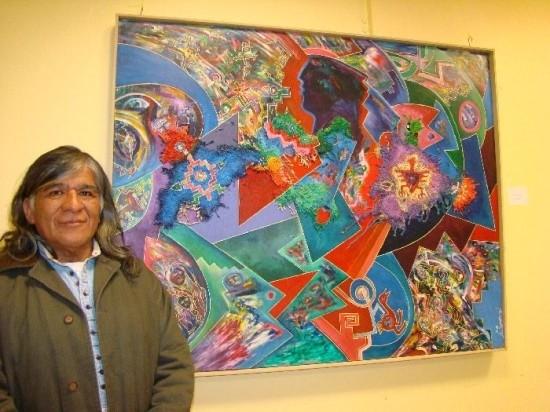 Sandoval expone en la Sala de Dioramas